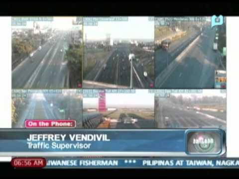 Panayam kay Jeffrey Vendivil tungkol sa sitwasyon ng North Luzon Expressway