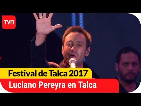 El romanticismo de Luciano Pereyra enamoró en Talca | Festival  de Talca 2017