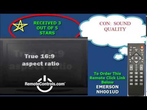 Review Emerson TV LCD 720p-60Hz - LC401EM2, LC320EM2, LC260EM2, LC220EM2 by  RemoteControls com