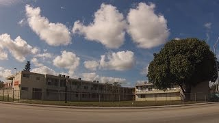 Carol City, Miami-Dade County, Florida - Drive through neighborhood streets