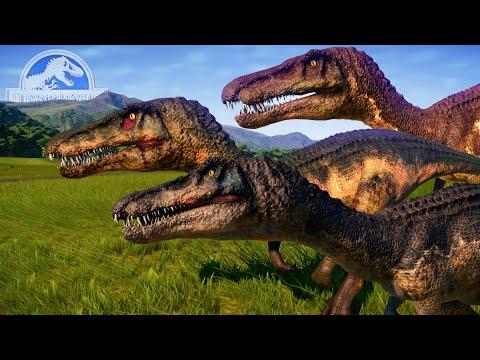 HERMANOS BARYONYX DE CAMPAMENTO CRETACICO! Chaos, Grim y Limbo en el parque Jurassic World Evolution |