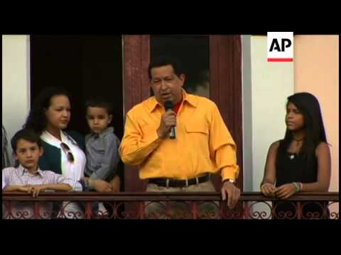 Venezuelan President Chavez celebrates 57th birthday
