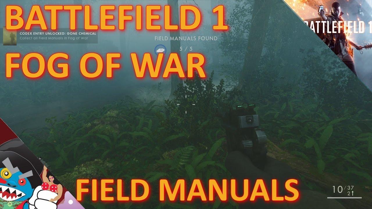 battlefield 1 manuals and codex