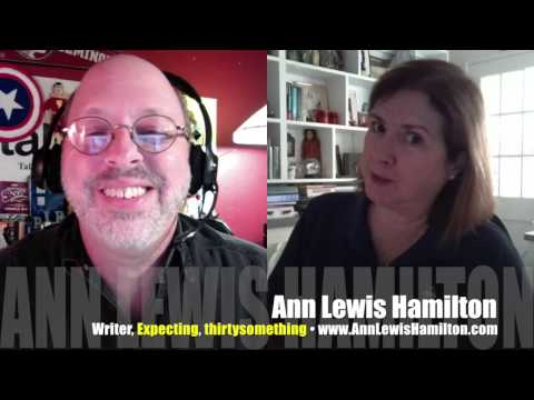 Expecting? Ann Lewis Hamilton's novel isn't wrong! INTERVIEW