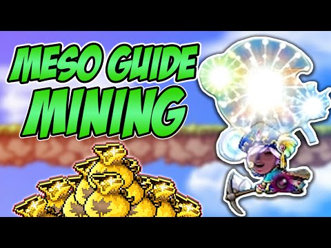 Maplestory Meso Guide: Mining Profession