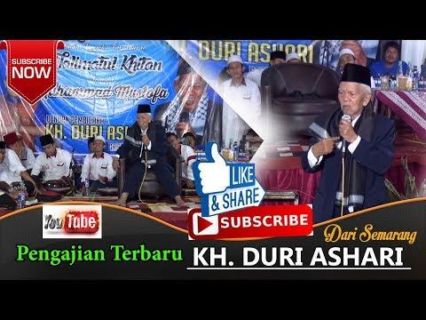 KH DURI ASHARI SEMARANG TERBARU - VIRALLL!! LUCU PENUH HUMOR SAMPE TURUN DARI PANGGUNG - LIVE GODONG