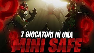 7 GIOCATORI IN UNA SAFE PICCOLISSIMA!?!? | FORTNITE ITA