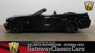 2007 Ford Shelby Mustang GT500 - Gateway Classic Cars of Atlanta #738