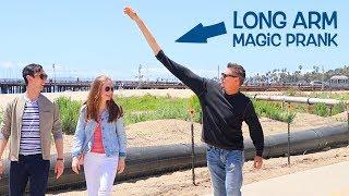 CRAZY LONG ARM!! - Public Comedy!!