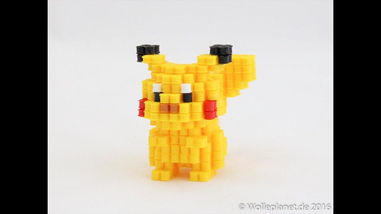 Perler Bead 3D Pikachu