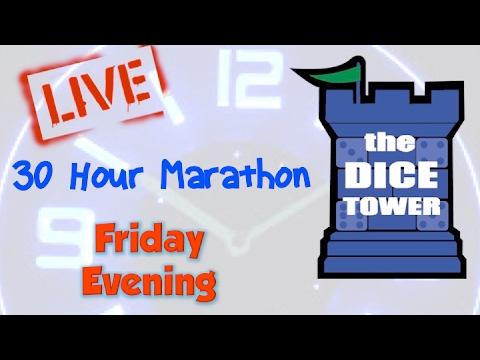 Dice Tower Marathon II - Friday Evening (7/7)