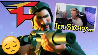 Self Promoting Getting Tfue Kicked Out OF FAZE *END* | Fortnite Battle Royale