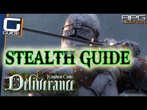 KINGDOM COME DELIVERANCE - Stealth Guide (Stealth Kills, Visibility, Noise...)
