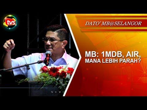 1MDB, air, mana lebih parah?