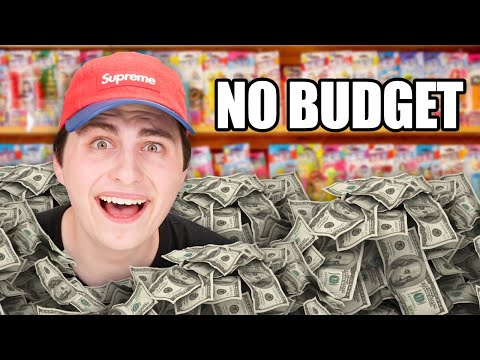 No Budget Candy Store Collectible Shopping