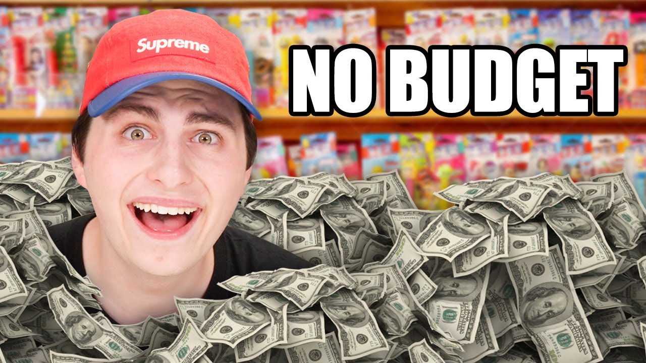 No Budget Candy Store Collectible Shopping!