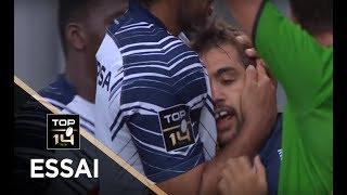 TOP 14 - Essai Paul ABADIE (SUA) - Oyonnax - Agen - J3 - Saison 2017/2018