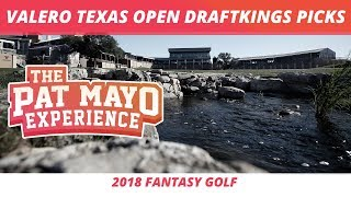 2018 Fantasy Golf Picks - Valero Texas Open DraftKings Picks, Sleepers and Preview