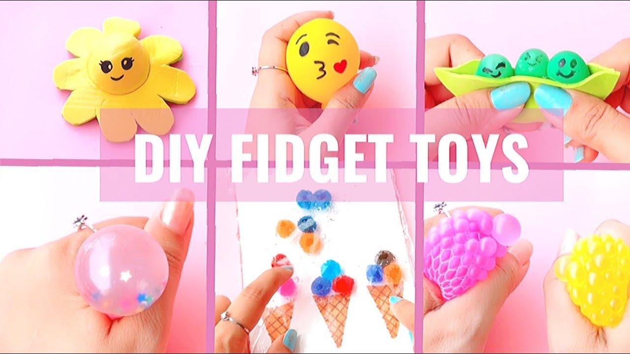 8 DIY Fidget Toys Ideas - Viral TikTok Fidget Toys / Super Easy Fidget Toys / Crafts Idea 💡