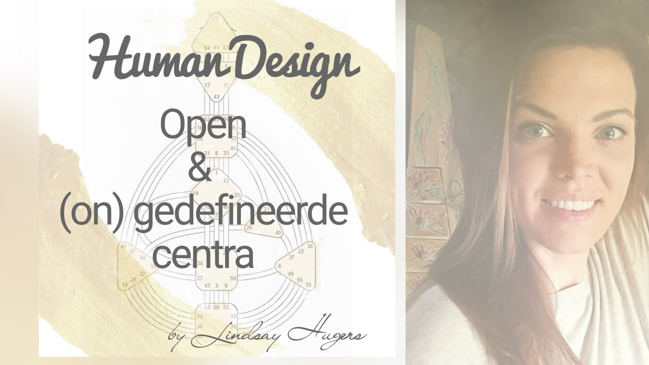 3. Open en (on) gedefineerde centra human design