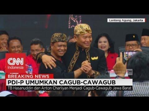 """Inilah 2 """"Jenderal"""" Untuk """"Perang"""" di Pilkada Jabar 2018 Versi Megawati"""