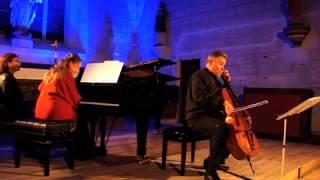 Sonate pour violoncelle et piano Debussy de Boris Baraz et Irina Kataeva
