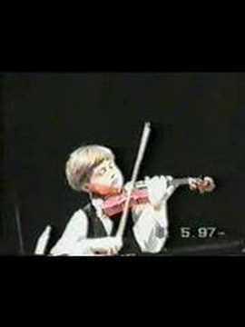11 Year Old Tymur Melnyk Sarasate Zigeunerweisen