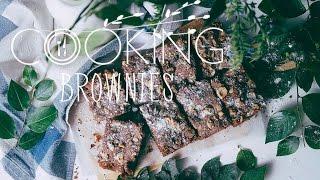 COOKING / BROWNIES / Рецепт Брауни с фундуком
