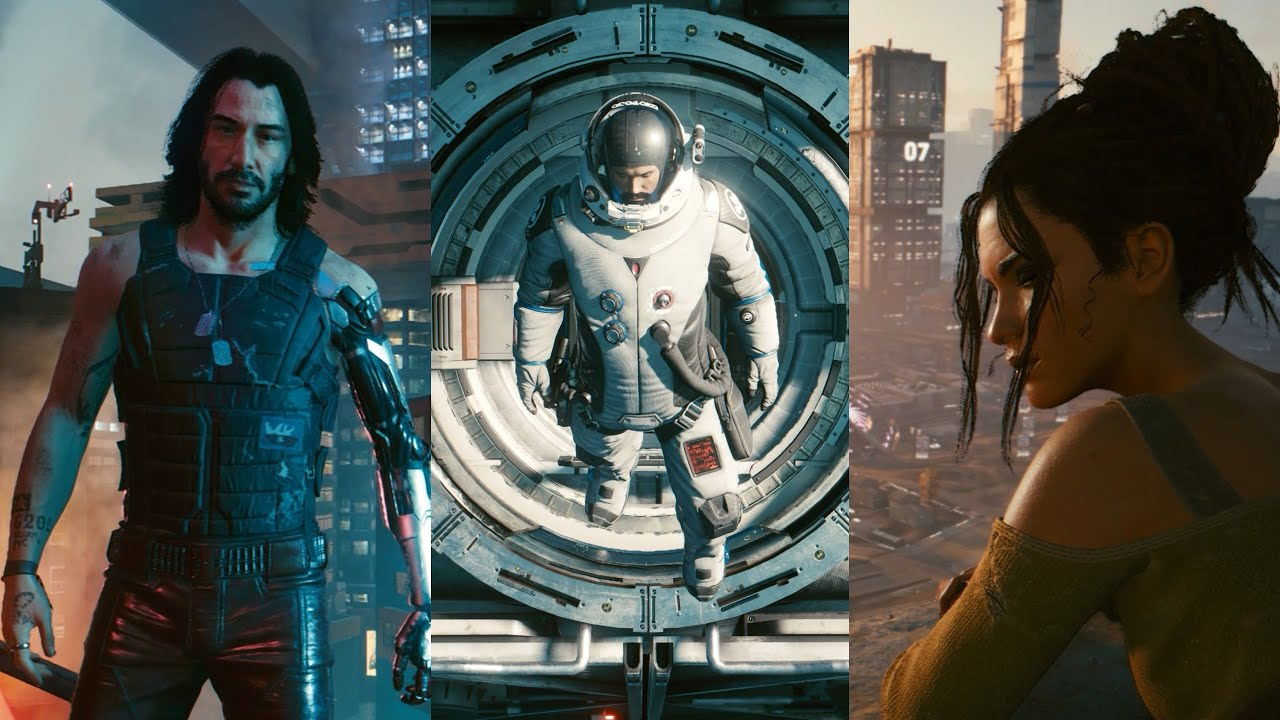Cyberpunk 2077 - ALL 7 ENDINGS (Good, Bad & Secret Ending)