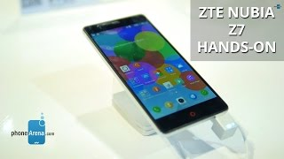 ZTE Nubia Z7 hands-on