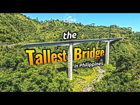 Agas-Agas Bridge in Southern Leyte // The TALLEST Bridge in the Philippines