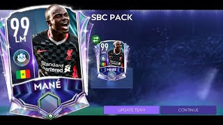 Cheapest Way so fąr to get SBC Master Mané! | Fifa Mobile 21 - Squad Building Challenge