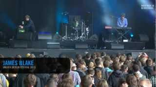 James Blake - Unluck (Live at Berlin Festival 2011)
