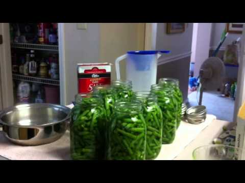 Canning Green Beans Without Bacon