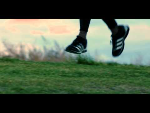 Close up of a running man\'s feet, Royalty Free Stock Footage