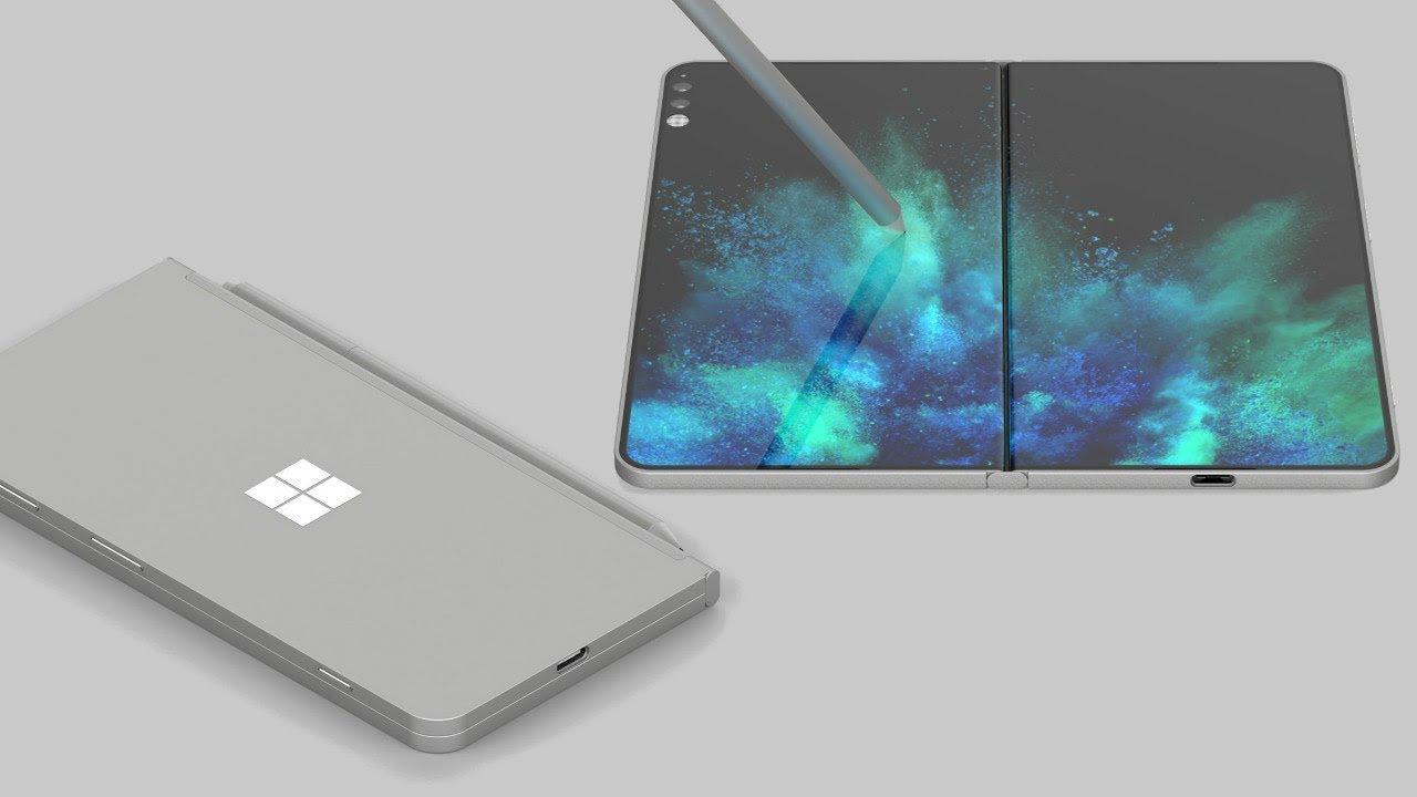 Microsoft Folding Tablet - Surface Note?