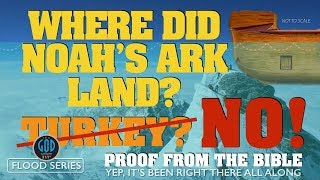 NOAH'S ARK FOUND in 2010 on Mount Ararat? Let's Test This Claim. What Does The Bible Say?