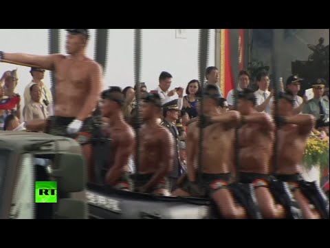 Taiwan celebrates 70th Anniversary of Japan defeat with military parade