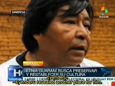 Brazil: Guarani people hope to rescue and preserve their culture