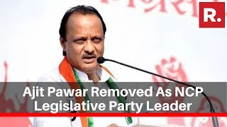 Ajit Pawar Removed As NCP Legislative Party Leader; Replaced With Jayant Patil