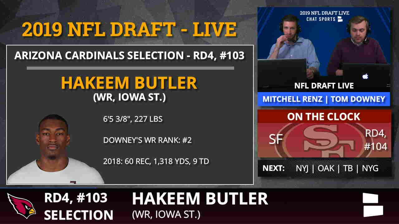 NFL Draft: Iowa State's Hakeem Butler selected by Arizona Cardinals in fourth round
