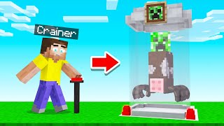We CREATED Our Own MOBS In MINECRAFT! (Weird)