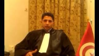 قفصة_ السيد شعبان حجلاوي مساعد وكيل الجمهورية و ممثل جمعية القصاة التونسيين بقفصة