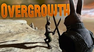 Overgrowth Beta Gameplay - Lugaru Bunny Brawling Campaign - Overgrowth Gameplay Highlights Part 1