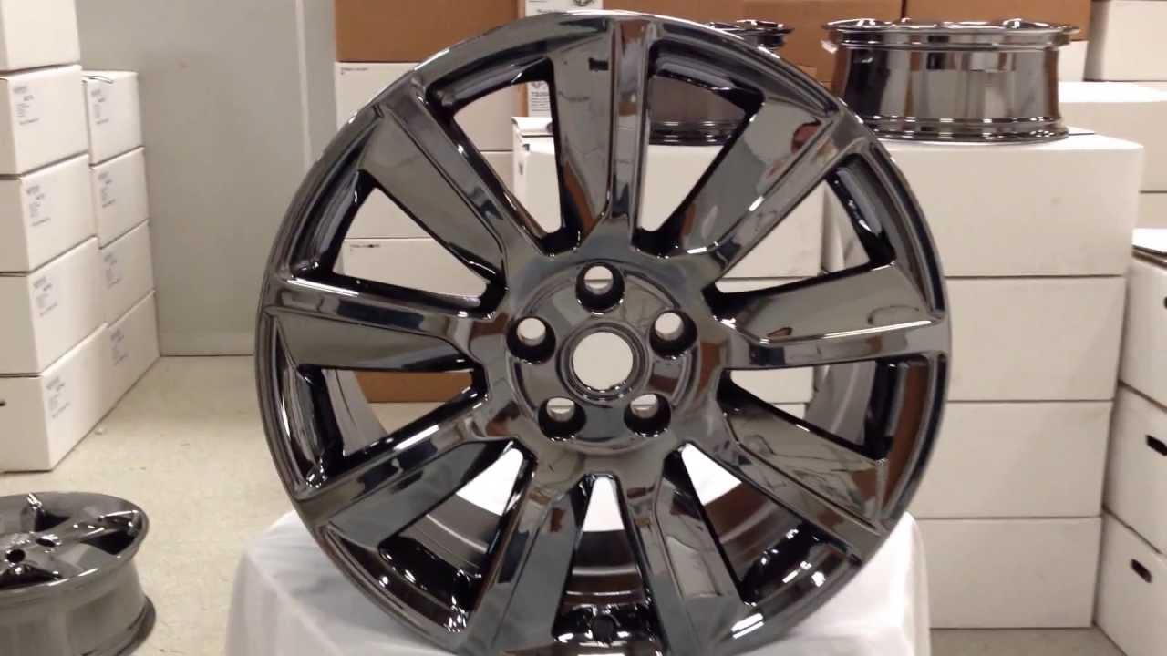 """New 20"""" BLACK CHROME & BLACK GLOSS wheels for Range Rover ..."""