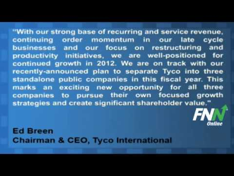 Tyco International Beats Expectations in Q4 (TYC)