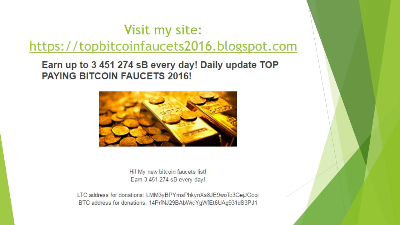 Earn Up to 3 451 274 Bitcoin Satoshi daily! Top highest paying ...