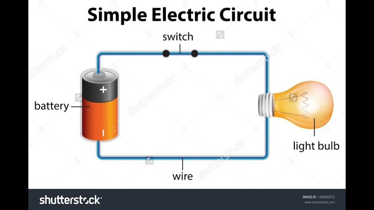 How To Make An Electric Circuit At Home Youtube Light Bulb Simple Experiment For Elementary Students