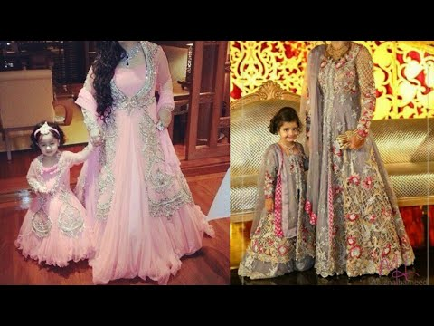 43d92b8d307b Matching indian outfits for mom and daughter/indian wedding outfits for  mother and daughter - YouTube