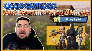 ♛ CICCIOGAMER89 FORTNITE FUNNY MONTAGE 2  ♛ Best Moments